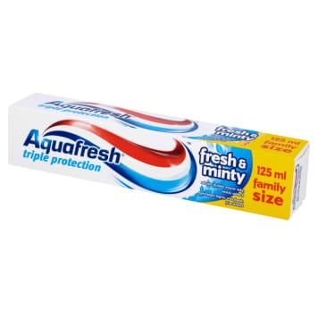 AQUAFRESH 3 Triple Protection Pasta do zębów Fresh&Minty 125ml