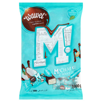 WAWEL Michałki z Wawelu Coconut candies in chocolate 1kg