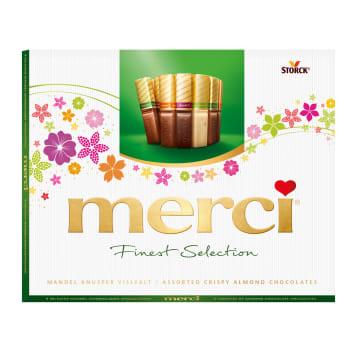 Kolekcja czekoladek z migdałami - Merci. Wyjątkowy prezent na każdą okazję.