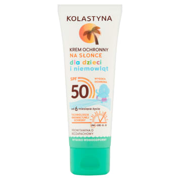 KOLASTYNA SUN Care Sun protection cream for children and babies SPF50 75 ml