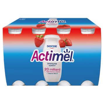 Napój mleczny, truskawkowy – Actimel. Sposób na wspieranie odporności Twojej rodziny.
