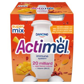 DANONE Actimel Napój mleczny mango-kurkuma-goji 4 szt. 400g