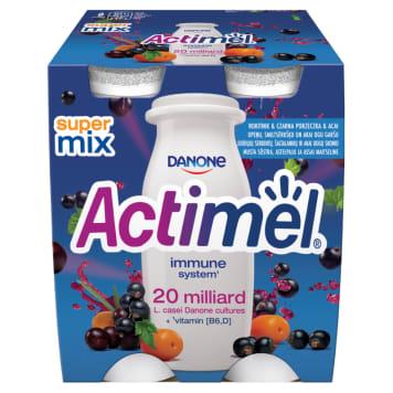 DANONE Actimel Milk drink sea buckthorn & blackcurrant & acai 4 pcs 400g
