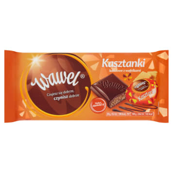 WAWEL Stuffed chocolate Cocoa cashews with wafers 100g