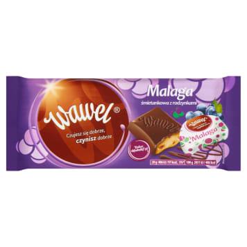 WAWEL Málaga stuffed with Malaga creamy with raisins 100g