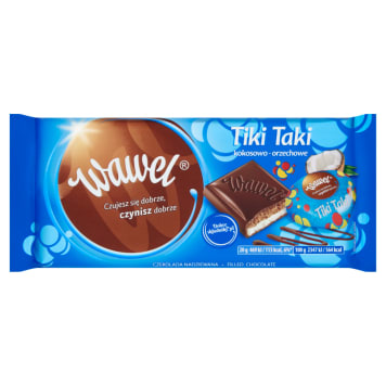 WAWEL Tiki chocolate stuffed with coconut-nut 23 g