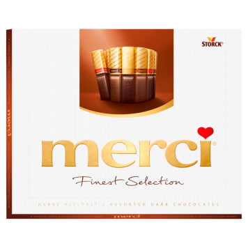 MERCI Finest Selection A collection of dessert chocolates 250 g