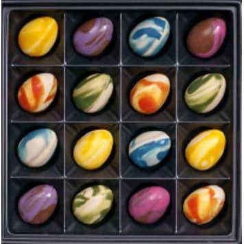 KARMELLO Chocolate Easter eggs 1pc