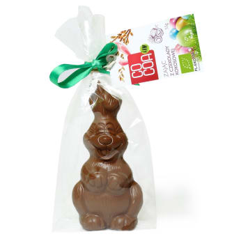 COCOA Bunny with coconut chocolate BIO 55g