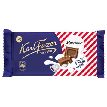 FAZER Chocolate with liquorice 145g