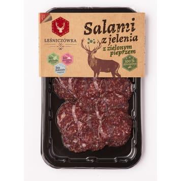 LEŚNICZÓWKA Salami from a deer - slices 70g