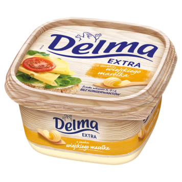 DELMA EXTRA Margarine flavored with a country dish 450 g
