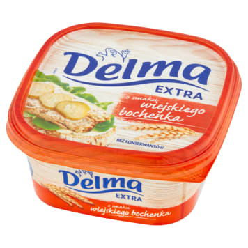 DELMA EXTRA Margarine flavored with a rural loaf 450g