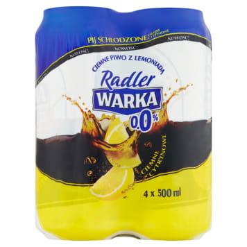 WARKA Radler Dark lemon non-alcoholic beer 2l