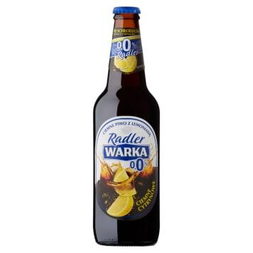 WARKA Radler Dark lemon non-alcoholic beer 500ml