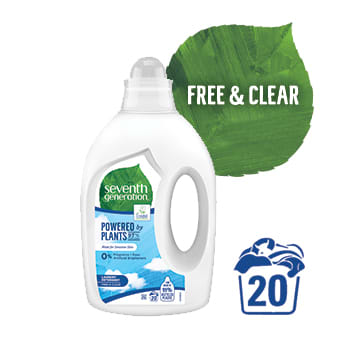 SEVENTH GENERATION Ecological washing gel Free & Clear 1 l