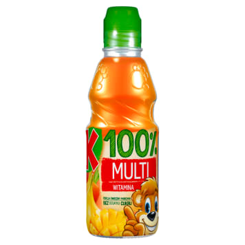 Sok multiwitamina 100% 300ml - Kubuś