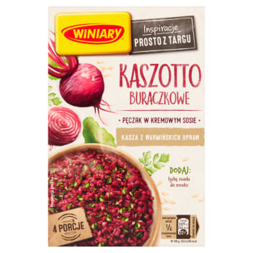WINIARY Groats with beetroot 248 g
