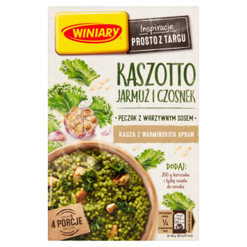 WINIARY Groats with kale and garlic 233 g