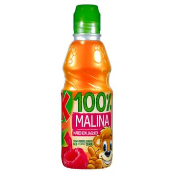 KUBUŚ 100% Malina marchew jabłko Sok 300ml