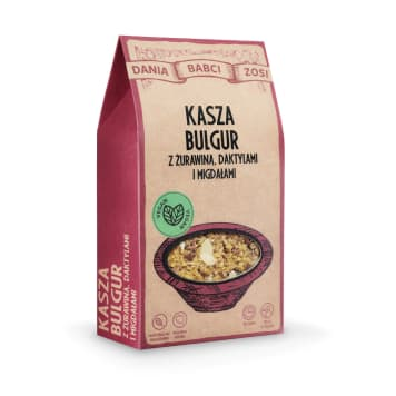 DANIA BABCI ZOSI Bulgur grits with cranberries, dates and almonds 250g