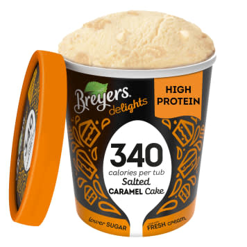 BREYERS Delights Ice cream with a taste of salted caramel 100ml