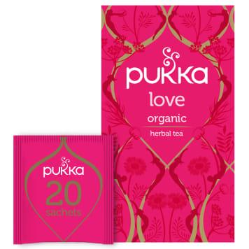 PUKKA Herbatka ziołowa z rumiankiem Love BIO 20 torebek 24g