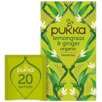 PUKKA Flavoured tea Lemongrass & Ginger BIO 20 bags 36g