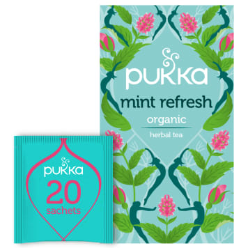 PUKKA Flavored tea Mint Refresh BIO 20 bags 40g