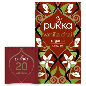 PUKKA Flavored tea Vanilla Chai BIO 20 bags 40g