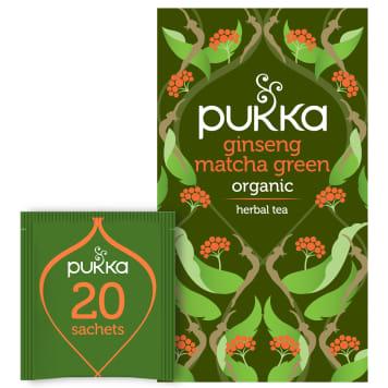 PUKKA Herbal tea Ginseng Matcha Green BIO 20 bags 30g