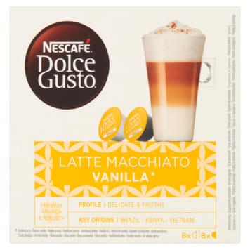 NESCAFÉ Dolce Gusto Latte Macchiato Vanilla Coffee capsules 16 pcs 188g