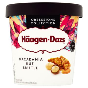 Lody z orzechami Macadamia - Haagen-Dazs. Chwila przyjemności i słodyczy o nietypowym smaku.