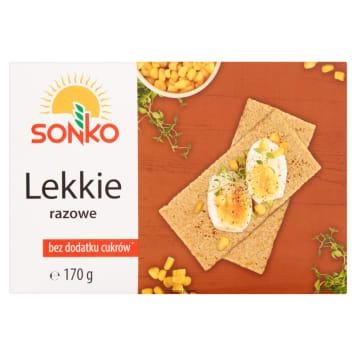 Pieczywo lekkie razowe – Sonko. Pieczywo lekkie razowe to propozycja dla osób dbających o linię.