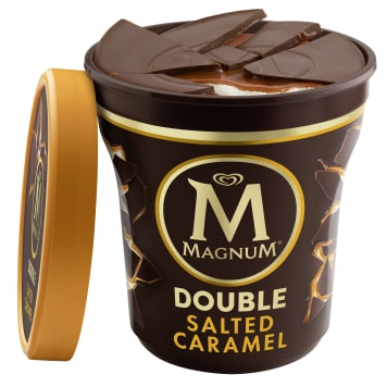 MAGNUM Double Ice cream with the taste of salty caramel 440ml