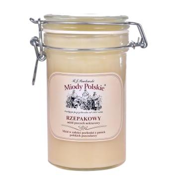 MIODY POLSKIE Rapeseed honey nectar 550g