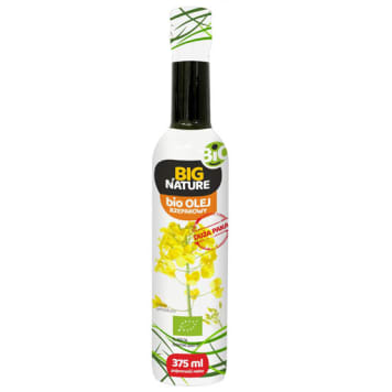 BIG NATURE Rape oil BIO 375 ml