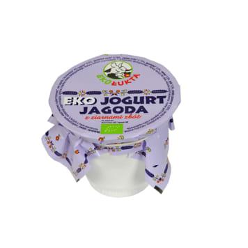 EKOŁUKTA Jogurt jagodowy z ziarnami zbóż BIO 200g