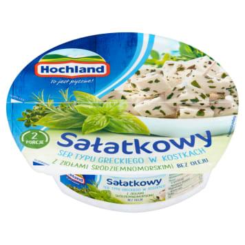 HOCHLAND Greek type salad in cubes with Mediterranean herbs 135g