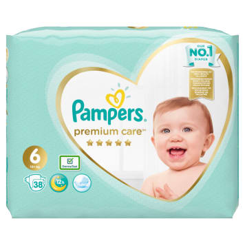 PAMPERS Premium Care Diapers Size 6 (13kg+) 38 pcs 1pc