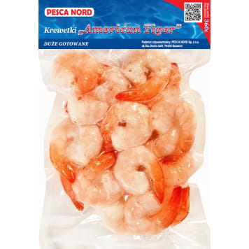 PESCA NORD Shrimp cooked frozen 360 g