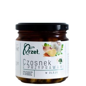 ORZEŁ POLSKA Garlic marinated with spices 170g