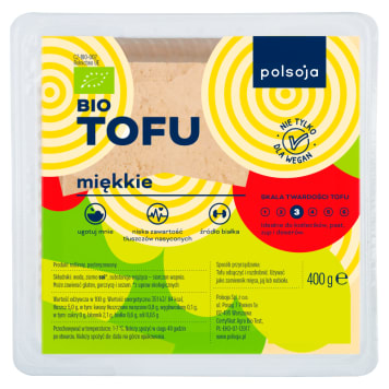POLSOJA Tofu in soft water BIO 400g