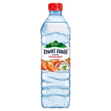 Żywiec Zdrój - Napój niegazowany o smaku truskawkowym. Doskonale gasi pragnienie.