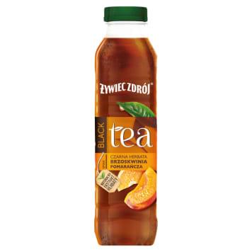 ŻYWIEC ZDRÓJ BLACK Tea Napój herbaciany Brzoskwinia Pomarańcza 500ml