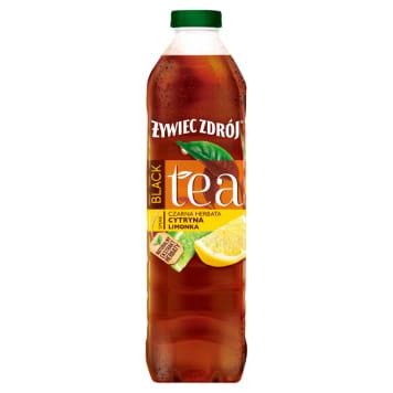 ŻYWIEC ZDRÓJ BLACK Tea Napój herbaciany Cytryna Limonka 1.5l