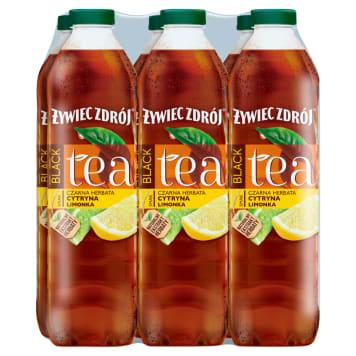 ŻYWIEC ZDRÓJ BLACK Tea Napój herbaciany Cytryna Limonka 9l