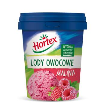 HORTEX Raspberry ice cream 500ml