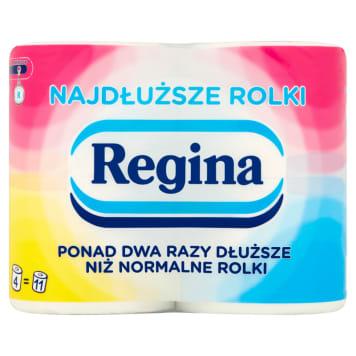 Papier toaletowy - Regina. Delikatny, trwały i wydajny niezbędnik w każdym domu.