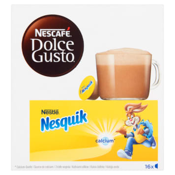 Kakao w kapsułkach Nesquik - Nescafé Dolce Gusto. To rarytas dla smakoszy.